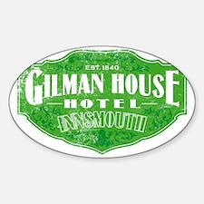 GILMAN HOUSE HOTEL Decal