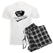 Honey Badger Design Pajamas