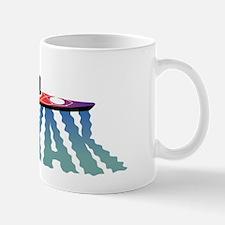 kayak ripple wht Mug