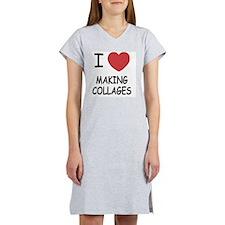 MAKING_COLLAGES Women's Nightshirt