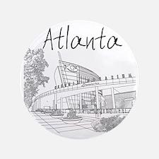 """Atlanta_10x10_GeorgiaAqarium_Black 3.5"""" Button"""