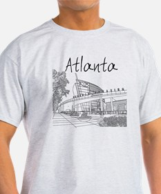 Atlanta_10x10_GeorgiaAqarium_Black T-Shirt