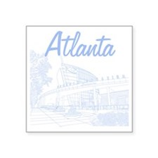 """Atlanta_10x10_GeorgiaAqariu Square Sticker 3"""" x 3"""""""