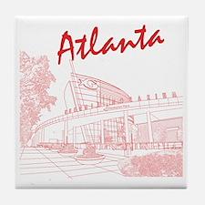 Atlanta_10x10_GeorgiaAqarium_Red Tile Coaster