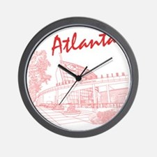Atlanta_10x10_GeorgiaAqarium_Red Wall Clock
