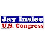 Jay Inslee for Congress Bumper Sticker