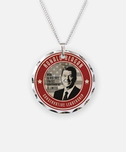 july11_reagan_conservative Necklace