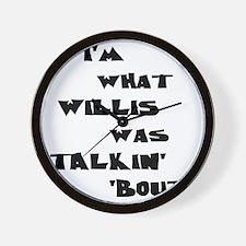 willis5 Wall Clock