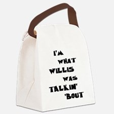 willis5 Canvas Lunch Bag
