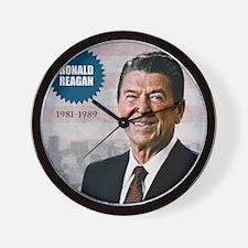 sept_reagan Wall Clock