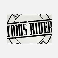 Toms River Title W Rectangle Magnet