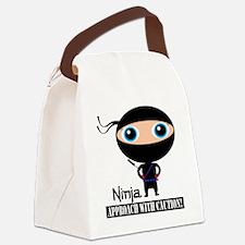 Boy-Ninja Canvas Lunch Bag