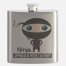 Boy-Ninja Flask
