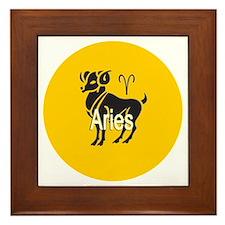 1aries Framed Tile