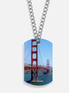 San Francisco Golden Gate Dog Tags