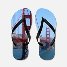 San Francisco Golden Gate Flip Flops