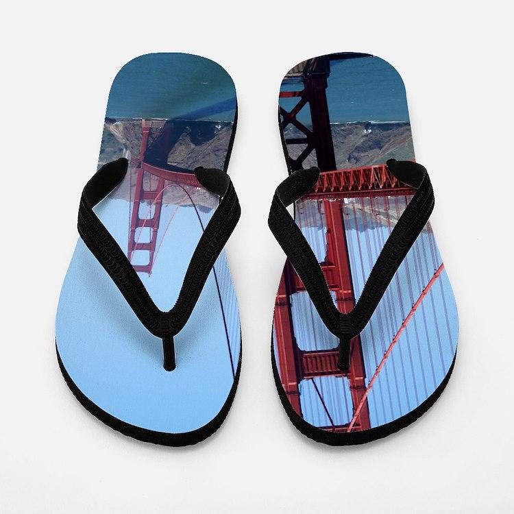 San Francisco Golden Gate Flip Flops