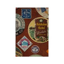 luggage_441_iphone_case Rectangle Magnet