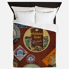 luggage Queen Duvet