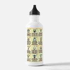 zodiac-journal Water Bottle