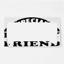specialladyfriend-dark License Plate Holder