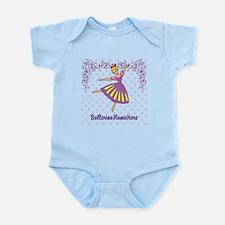 Personalize Your Purple Ballerina! Infant Bodysuit