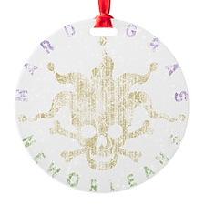 jest-dist-mardi-DKT Round Ornament
