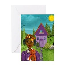 house copy Greeting Card