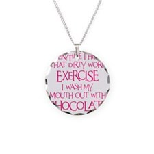 pink, Dirty Word Exercise 2 Necklace