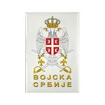 Vojska Srbije / Serbian Army Rectangle Magnet (100