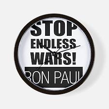 stop_endless_wars Wall Clock