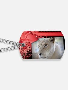 Sheila - Romantic Card Dog Tags
