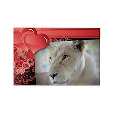 Sheila - Romantic Card Rectangle Magnet