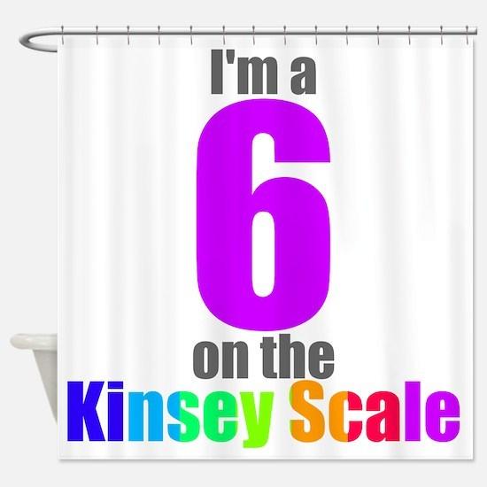 kinsey-6 Shower Curtain