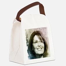 jan12_sarah_pixels Canvas Lunch Bag
