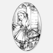 Alice  the Footman Decal
