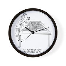 1525_lactose_cartoon Wall Clock