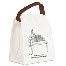 1525_lactose_cartoon Canvas Lunch Bag