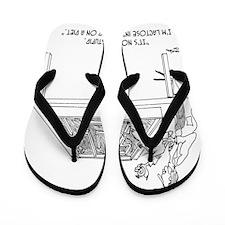 1525_lactose_cartoon Flip Flops