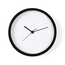 i never finish anythi Wall Clock