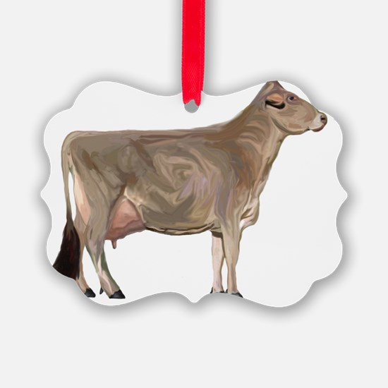 BrownSwiss Ornament
