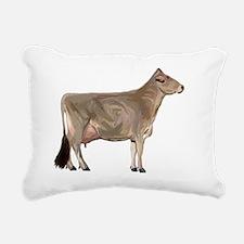 BrownSwiss Rectangular Canvas Pillow