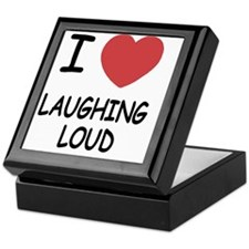 LAUGHING_LOUD Keepsake Box