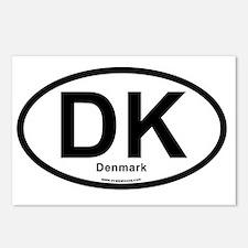 dk_denmark Postcards (Package of 8)