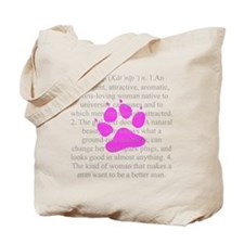 Definition of Catnip for Boys Tote Bag