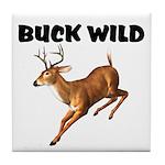 Buck Wild Tile Coaster