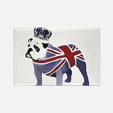 English Bulldog and Crown Magnets