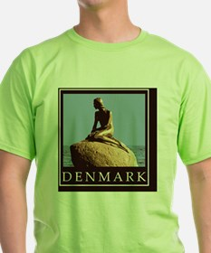 DenmarkLittleMermaid1Postcard1 T-Shirt