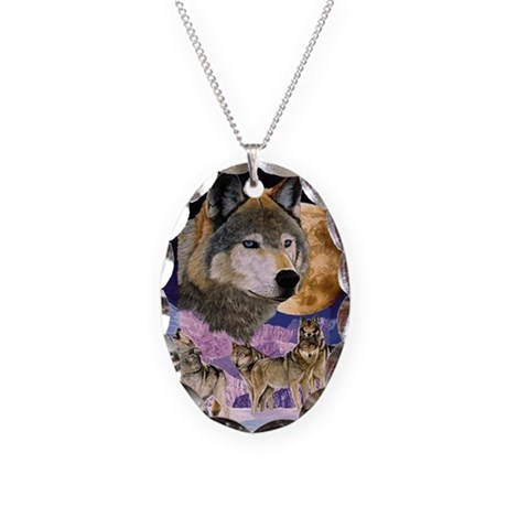 Pack Spirit Necklace Oval Charm
