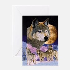 Pack Spirit Greeting Card